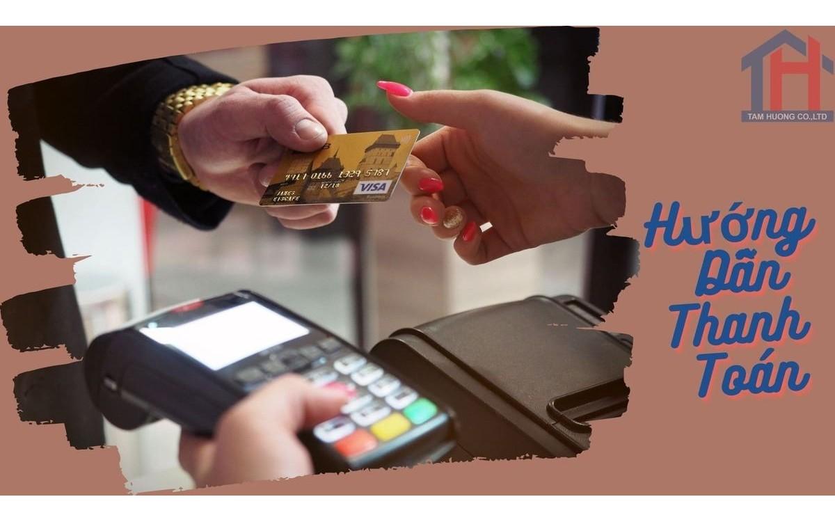 Hướng dẫn thanh toán trên website