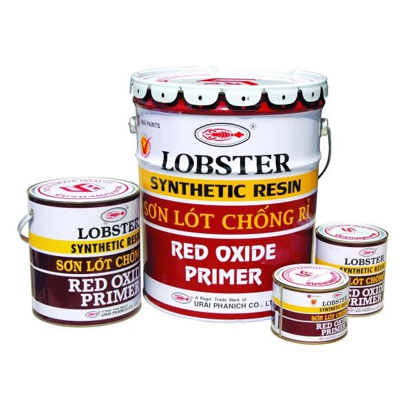 Sơn Chống Rỉ Lobster Đỏ Nâu 1024 Red Oxide Primer