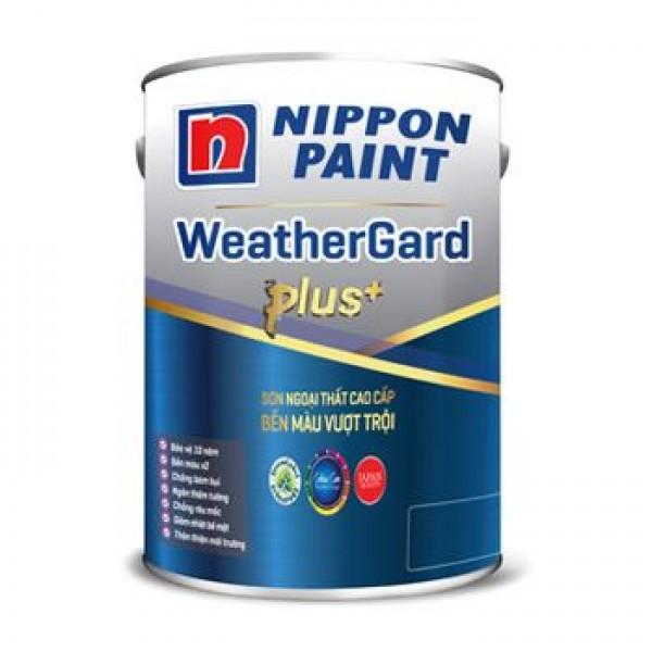 Sơn Nippon Weatherguard Plus Ngoại Thất